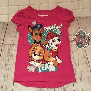 Nickelodeon Girls Paw Patrol Tee Shirt Size 3T